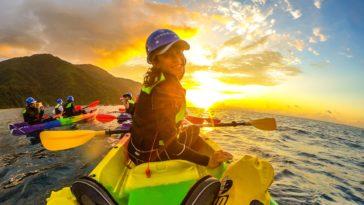 烏岩角 宜蘭 東澳 獨木舟 日出 kayak