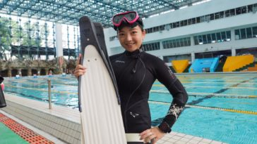 albee freediving 自由潛水 aida